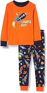 Hatley Organic Cotton Long Sleeve Appliqué Pyjama Sets Pigiama Bambino