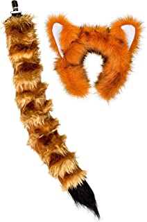 red panda tail and ears