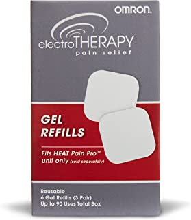 Omron Gel Refills for TENS Unit (PMGEL) – Used with Omron Heat Pain Pro TENS Unit (PM311)