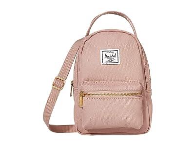 Herschel Supply Co. Nova Crossbody (Ash Rose) Handbags