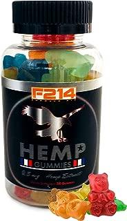 Formula 214 Premium Hemp Gummies | Veteran Owned, USA Made |750Mg, 25mg per Gummy | PTSD Support | Organic| Pain, Anxiety, Stress Relief | Calming Effect, Better Sleep Quality |THC Free|
