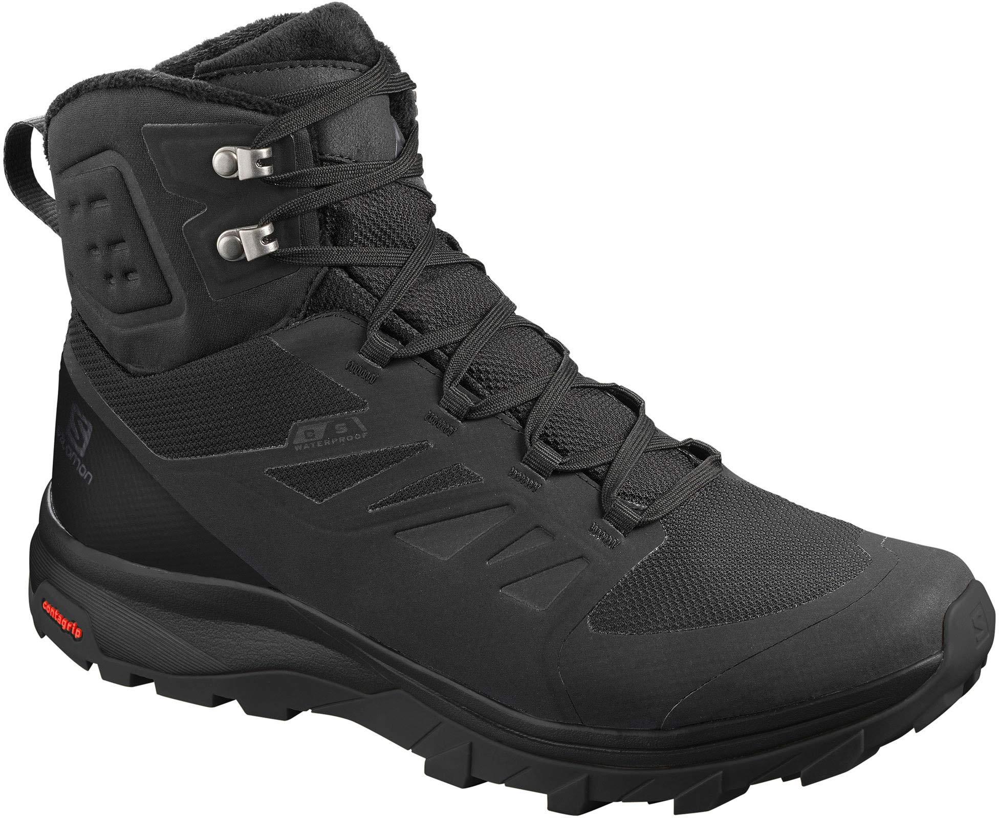 Salomon Mens Outblast Boots Black