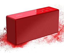 Portable Bluetooth Speaker with Rich Bass,True Wireless Stereo Speaker,360 Surround Sound with Subwoofer and Deep Bass for PC,Laptop,Cell Phone,Computer,Power Saving,Home Outdoor Speaker Built-in Mic