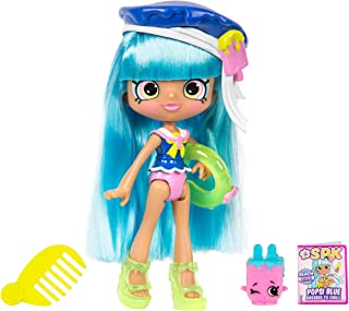 "5"" Shoppie Doll with Matching Shopkin & Accessories, Popsi Blue"