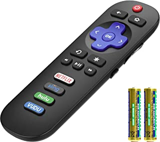 Angrox Universal Replacement Remote Applicable for TCL-Roku-TV-Remote All TCL Roku Smart LED TVs