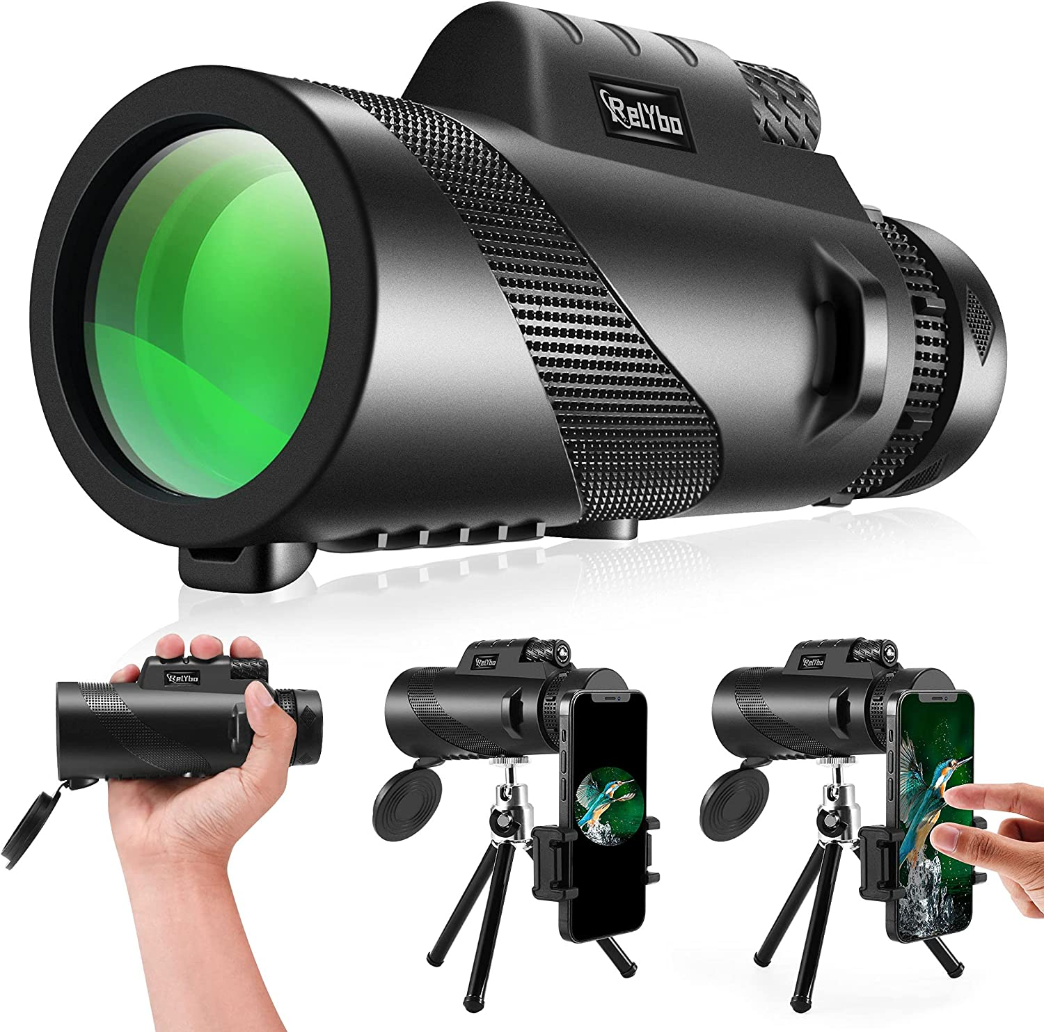 Price reduction Monocular Telescope for Adults OFFicial Powered Tel High 12X50