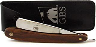 GBS SHAVE READY New Straight Edge Stainless Steel Barber Razor Folding Shaving Knife 5/8