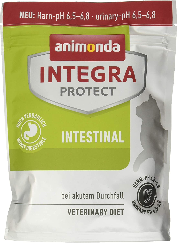animonda Integra Protect Intestinal para gatos, comida dietética para gatos, pienso para casos de diarrea o vómitos, 1200 g