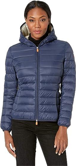 Basic Nylon Hooded Jacket