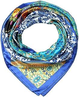 wrap curly hair silk scarf