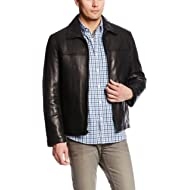 Men's Open Bottom Classic Leather Jacket