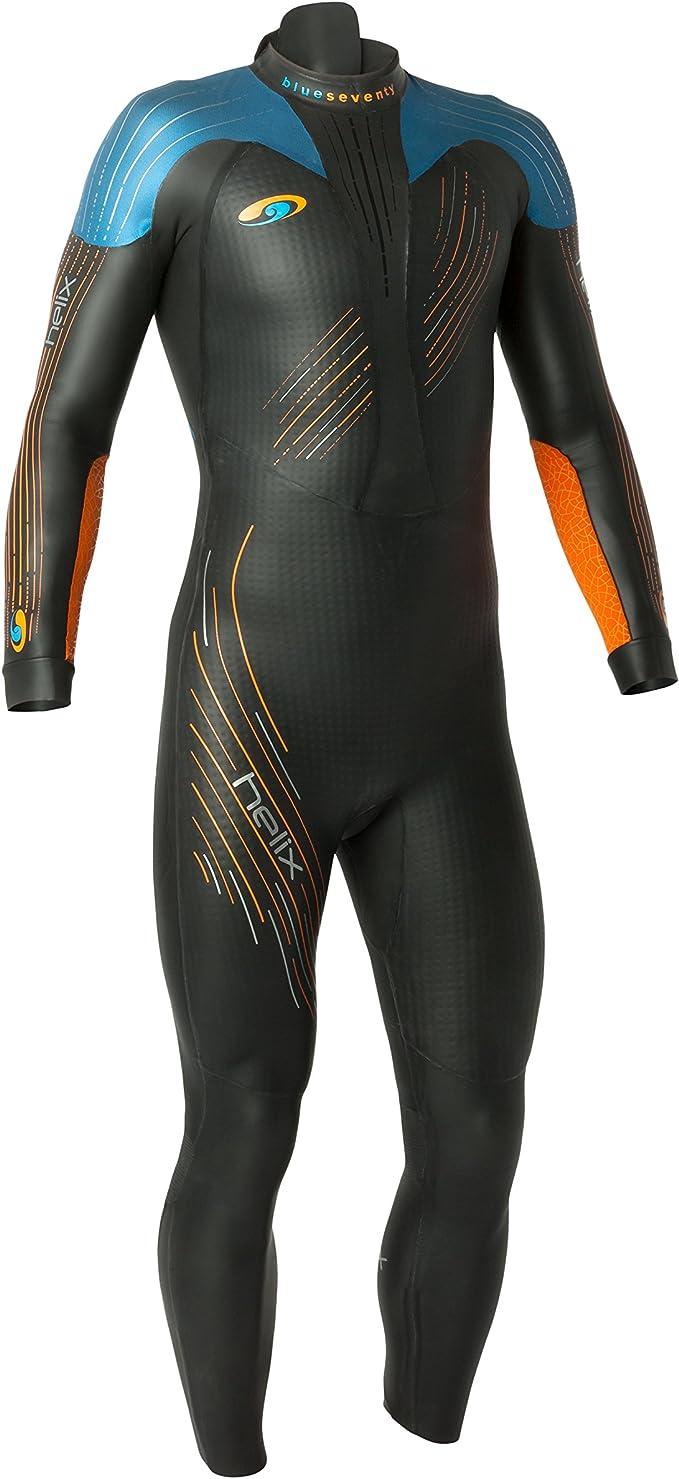 blueseventy 2019 Men's Helix Triathlon Wetsuit - for Open Water Swimming - Ironman & USAT Approved - (L)