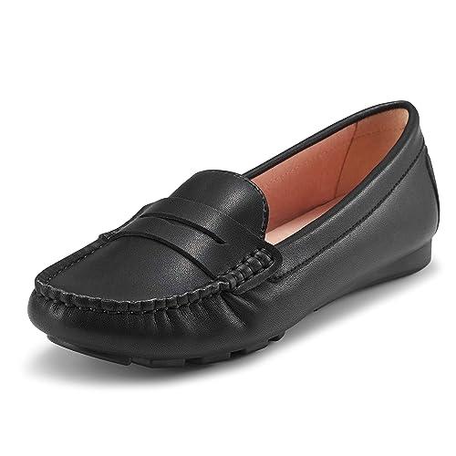 5a1abcb46519b Womens Black Loafers: Amazon.co.uk