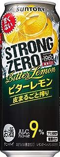 サントリー -196℃ ストロングゼロ ビターレモン 缶 500ml×24本入【×2ケース:合計48本】