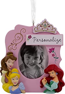Best Hallmark Christmas Ornaments, Disney Princesses Picture Frame Personalized Ornament Review
