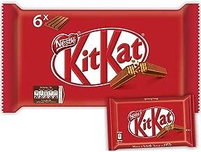 Nestle Kitkat 4 Finger Milk Chocolate Wafer Bar, 41.5 g (Pack of 6)