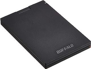 BUFFALO Type-Cケーブル付き/コネクタ保護機構/日本製 USB3.1(Gen1) ポータブルSSD 1.9TB SSD-PGC1.9U3-BA 【PS4 メーカー動作確認済】