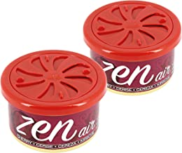 Zen Air ZAIRCH2 Ambientador para Coche, Cereza, Set de 2