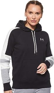 Under Armour Women's Rival Fleece Lc Logo Hoodie Novelty Hoodie