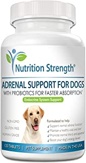 Sponsored Ad - Nutrition Strength Adrenal Support for Dogs, Support for Dogs with Cushing's Disease, Maintain a Healthy Co...
