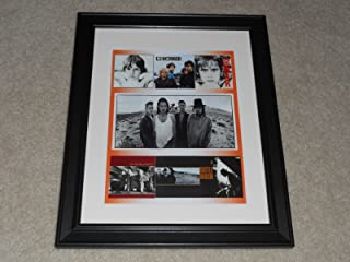 U2 6 Album Cover Poster 1980-1988 Bono, The Edge Framed Print 14