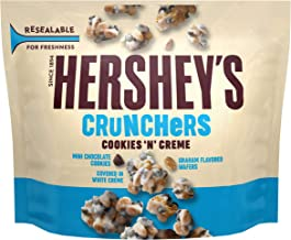 HERSHEY'S CRUNCHERS, Cookies 'n' Crème Candy, 6.1 oz Pouch