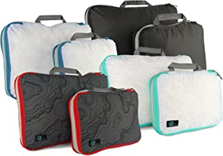 Acteon Compression Packing Cube - Clean/Dirty Compartments, Water Resistant - Great for Travel