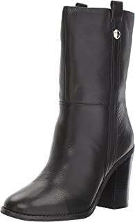Nine West Women's Howl Leather Mid Calf Boot