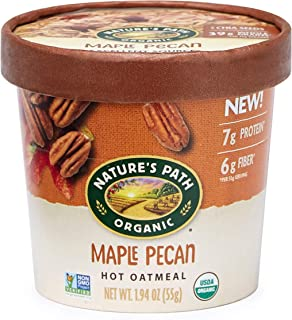 Nature's Path Maple Pecan Oatmeal Cups, Healthy & Organic, 1.94 Ounces (Pack of 12)