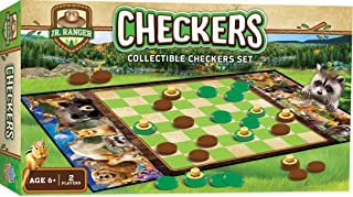 MasterPieces Jr Ranger - Checkers, Assorted, Model:41982
