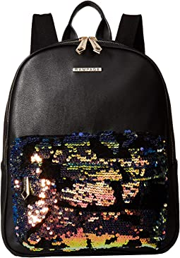 Sequin Pocket Dome Backpack