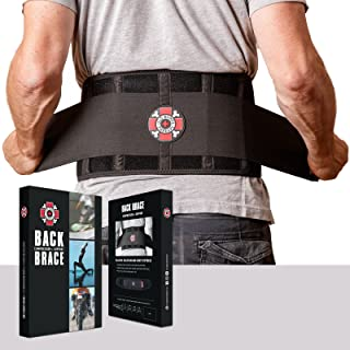 Old Bones Therapy Back Brace - Immediate Pain Relief for Lower Back Pain - Adjustable Back Support Belt with Reinforced Lumbar Support for Men & Women (Back Brace, L/XL)