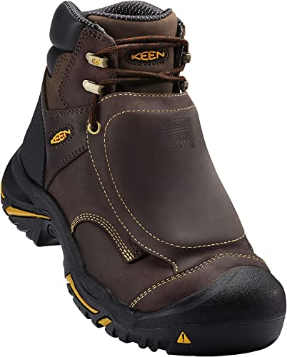 Keen Utility Hommes's Hommes's MT. Vernon Met Industrial and Construction chaussures, Cascade marron, 10 D US