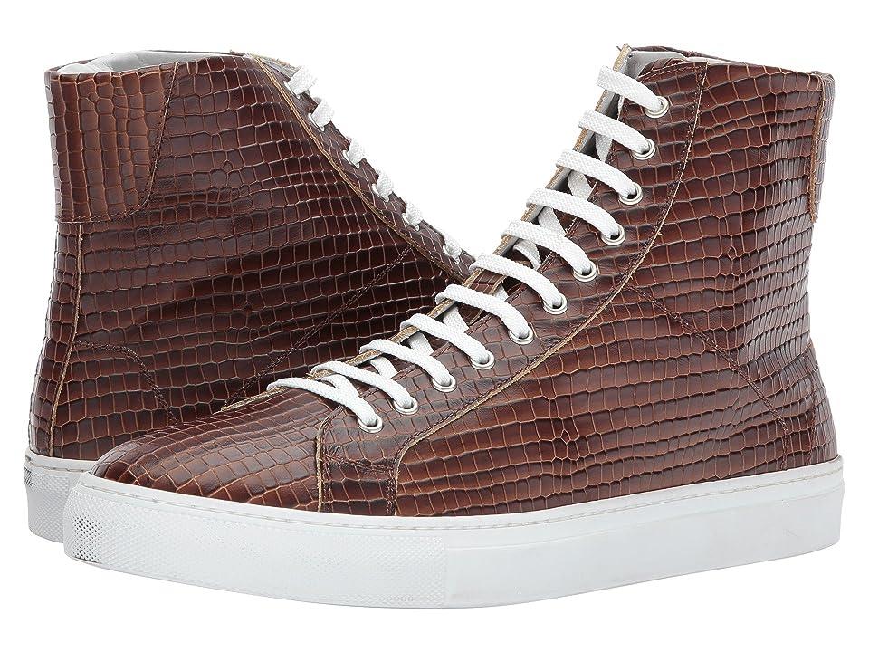 Gold & Gravy Dawson High Top Sneaker (Cognac) Men