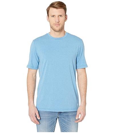 TravisMathew Butterfield T-Shirt (Heather Parisian Blue) Men