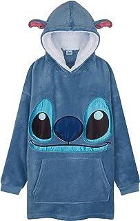 Disney Hoodies For Girls, Kids Oversized Hoodie Blanket, Stitch Disney Gifts