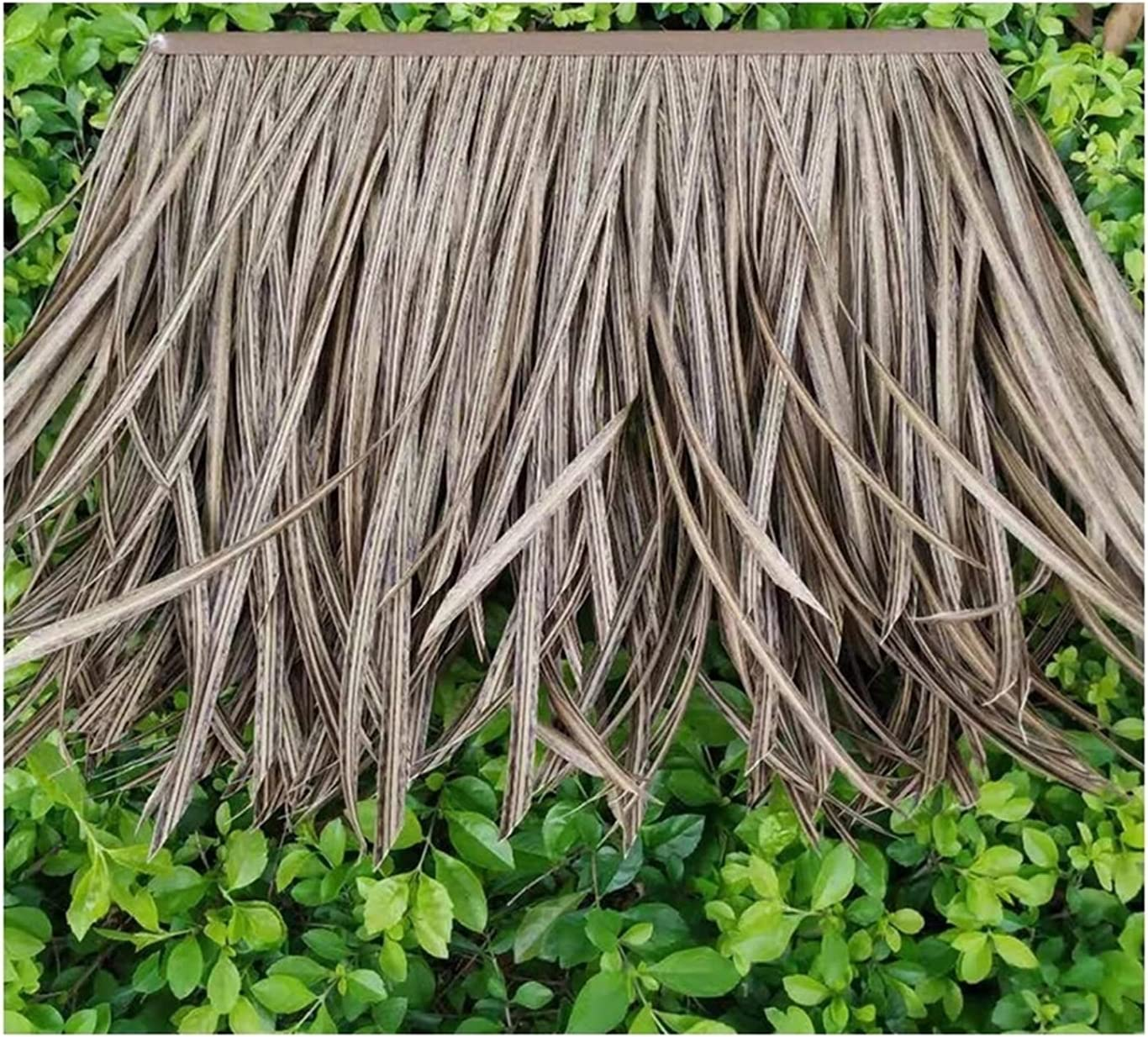 PE Environmental New Orleans Mall Protection High-Density 5 ☆ very popular Tile Thatch Simulation