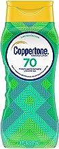 لوسیون ضد آفتاب ضد آفتاب Coppertone ULTRA GUARD SPF 70 (8 مایعات سیال) (بسته بندی ممکن است متفاوت باشد)