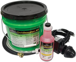 QwikDescaler+ Kit | Descaler Kit with Descaling Solution, Mixing Bucket, Hoses and Circulation Pump