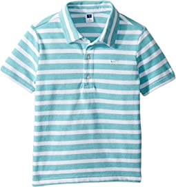 Short Sleeve Pique Polo (Toddler/Little Kids/Big Kids)