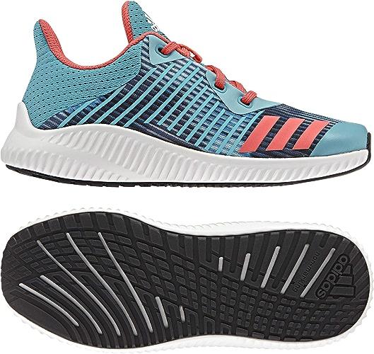 Adidas Fortarun K baskets Basses Mixte Enfant, Bleu (Azuene corsen ftwbla) 36 EU