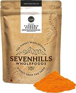 Sevenhills Wholefoods Ekologiskt Gurkmeja Pulver 500g