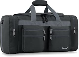45L Travel Duffel Bag Gym Bag Sports Duffle Bag Weekender Bag Luggage Duffel for Men Women for Hiking Camping Travelling Cycling with Multi-Pockets