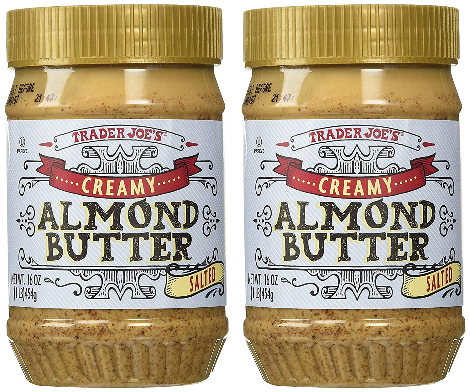 Oakland Mall Trader Joe's Creamy Salted Almond shipfree Butter of Pack oz 16 2