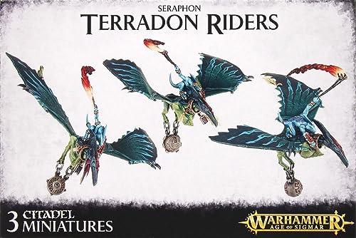 Teradon-Reiter Raptodaktylen der Echsenmenschen