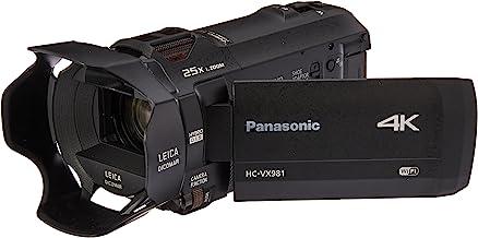 Panasonic 4K Ultra HD Video Camera Camcorder HC-VX981K, 20X Optical Zoom, 1/2.3-Inch BSI Sensor, HDR Capture, Wi-Fi Smartp...