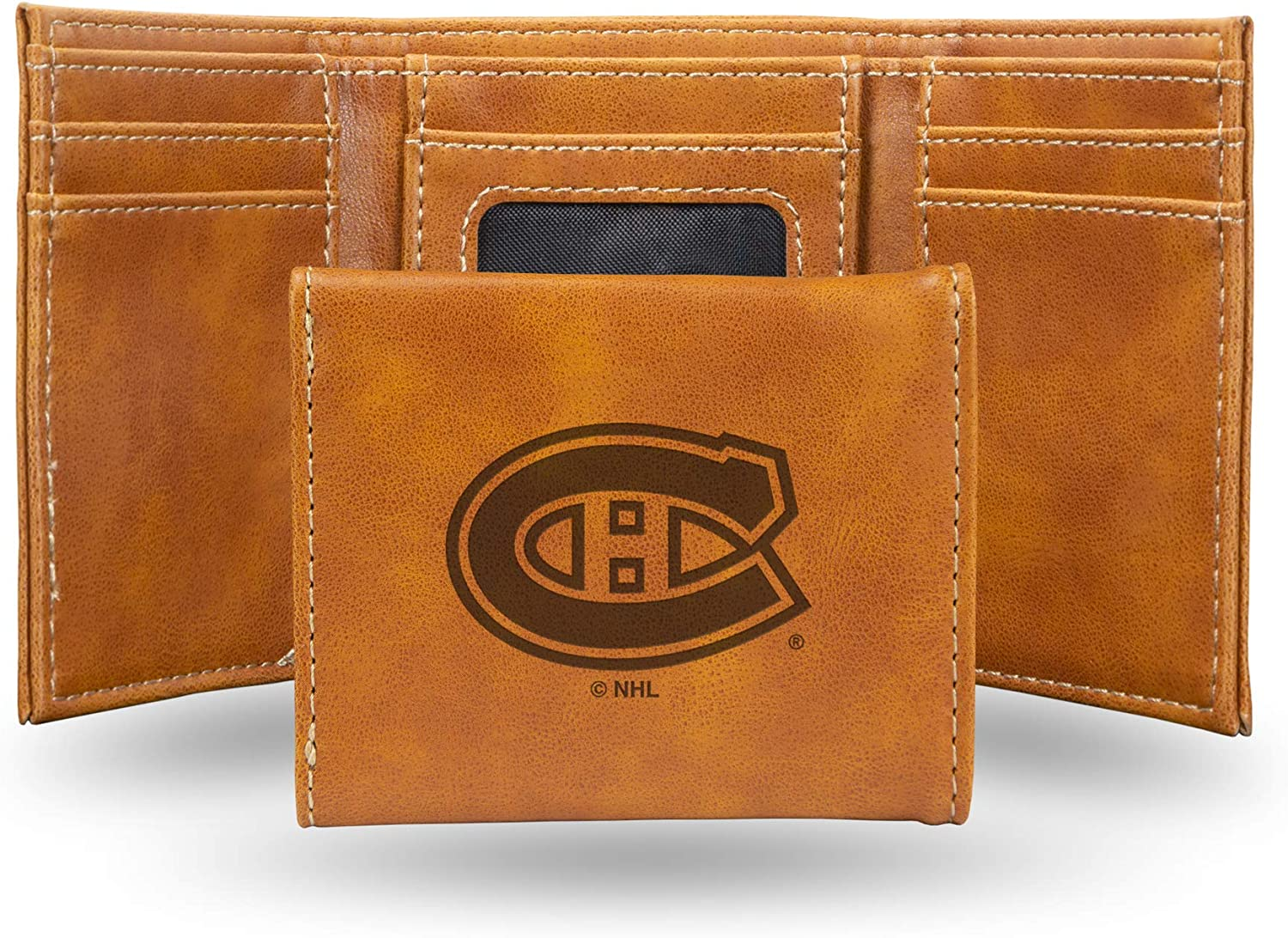 Rico Industries Fan Shop Engraved Very Columbus Mall popular Laser Trifold Wallet