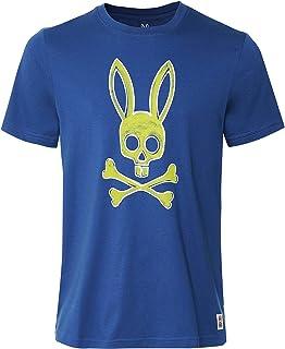 Psycho Bunny Men's Pima Cotton Sherwood T-Shirt Blue