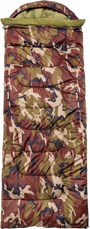 CMA Products Camouflage Sleeping Bag - Use Bargain sale Outdoor Indoor SALENEW very popular! Com