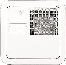 Suburban 6259APW Flush Mount 10 Gallon Water Heater Door-Polar White